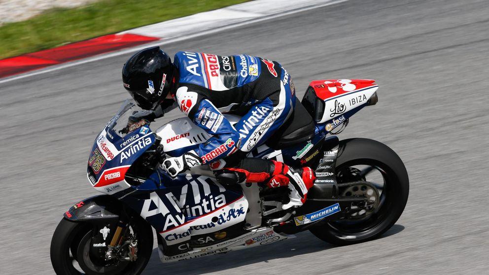 Michelin, tenemos un problema: una rueda explota a 290 km/h en MotoGP