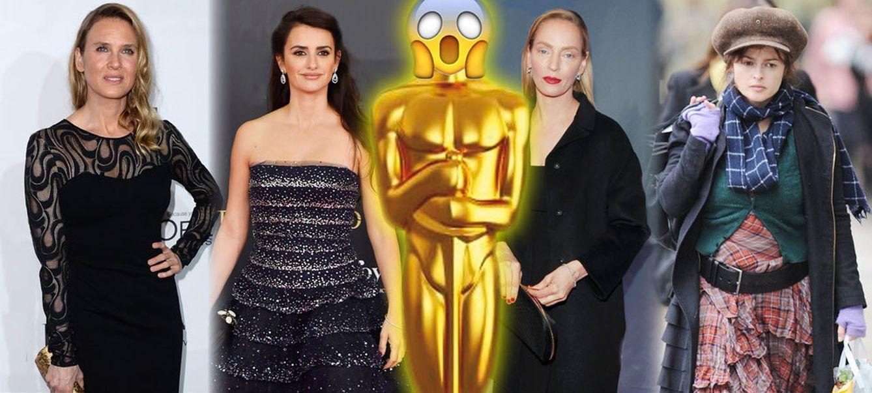 Los anti-Oscar: tener muy poco estilo o maquillarse como una puerta tiene premio