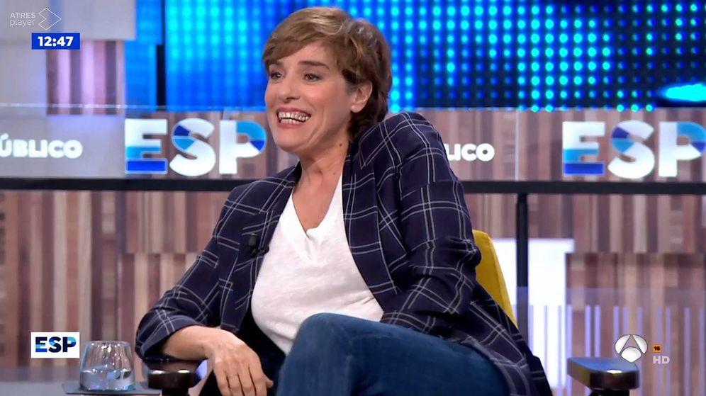 Foto: Anabel Alonso en 'Espejo público'. (Atresmedia Televisión)