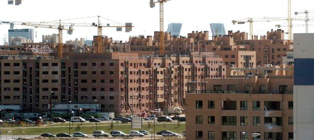 Foto: La vivienda en España registra su primera subida intertrimestral desde 2010