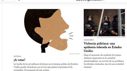 'The New York Times' pide a los latinos votar masivamente a Clinton