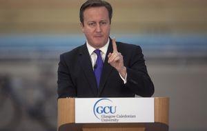 Cameron pide a los escoceses que se queden en el Reino Unido