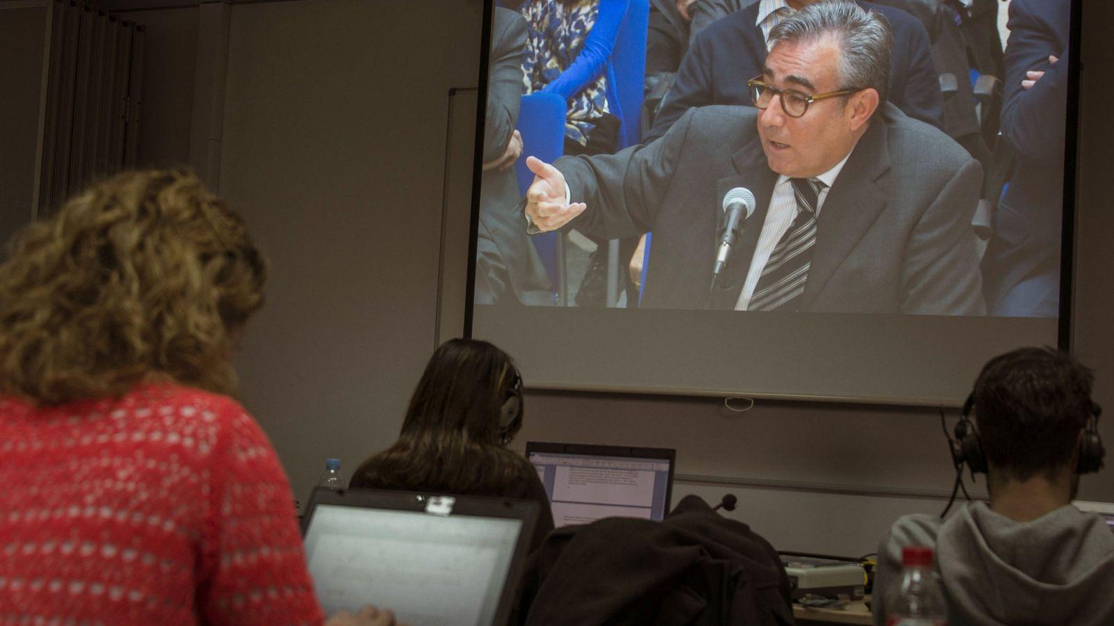 Foto: Diego Torres, exsocio de Iñaki Urdangarin, en el Instituto Nóos. (EFE)