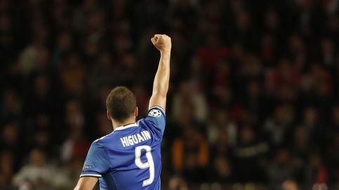 Higuaín se reivindica donde siempre le reclamaron, en la Champions