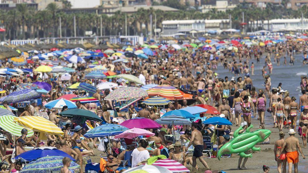 El gasto de los turistas extranjeros crece 10,3% en España y baja en Cataluña