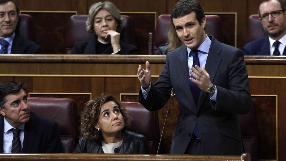 Foto: El líder del PP, Pablo Casado. (EFE)