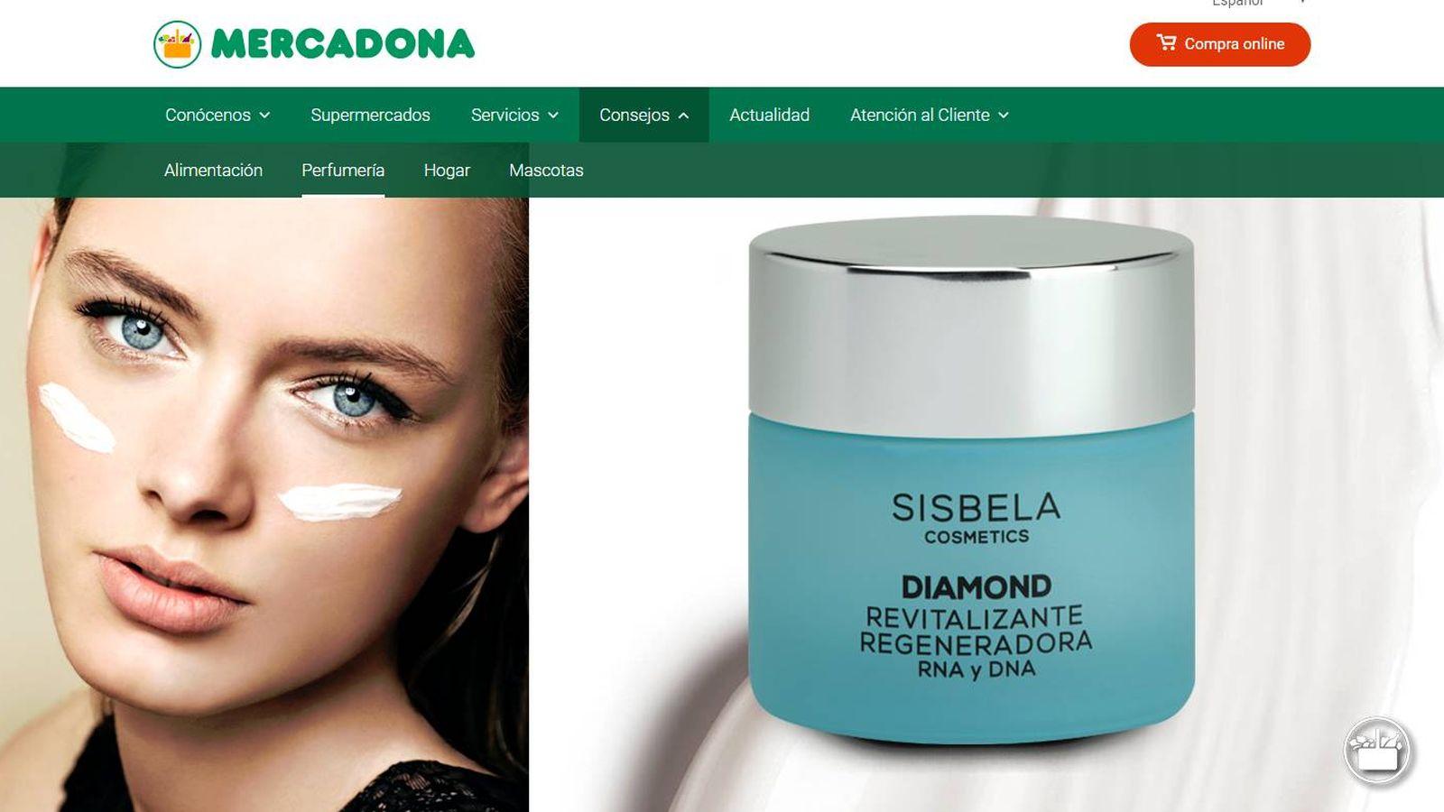 1ea33cb8cae Mercadona  Mercadona vende a 5 euros la crema Sisbela