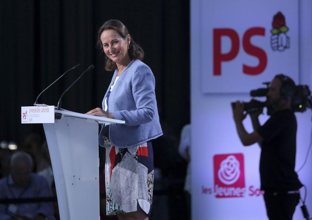 Foto: Segolene Royal durante un discurso en La Rochelle el pasado verano (Reuters).