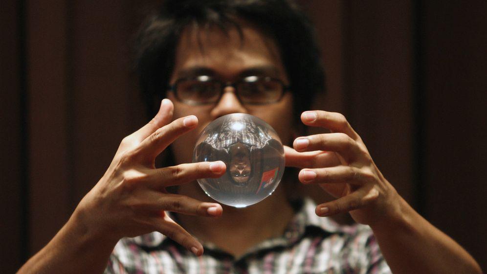Foto: La magia también interactua con las nuevas tecnologías. (Reuters)
