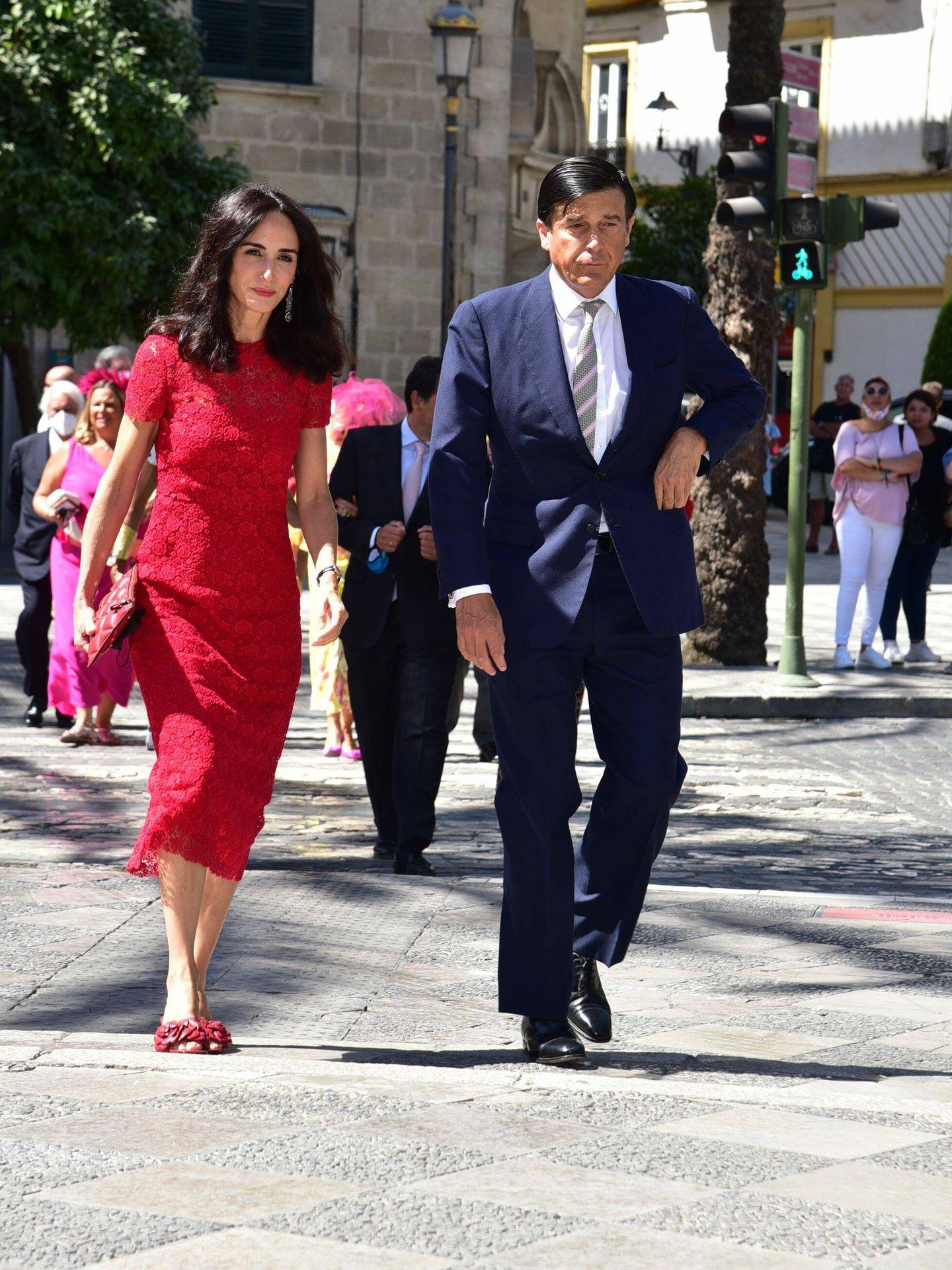 Amparo Corsini y Manuel Falcó, marqueses de Castel-Moncayo. (CP)