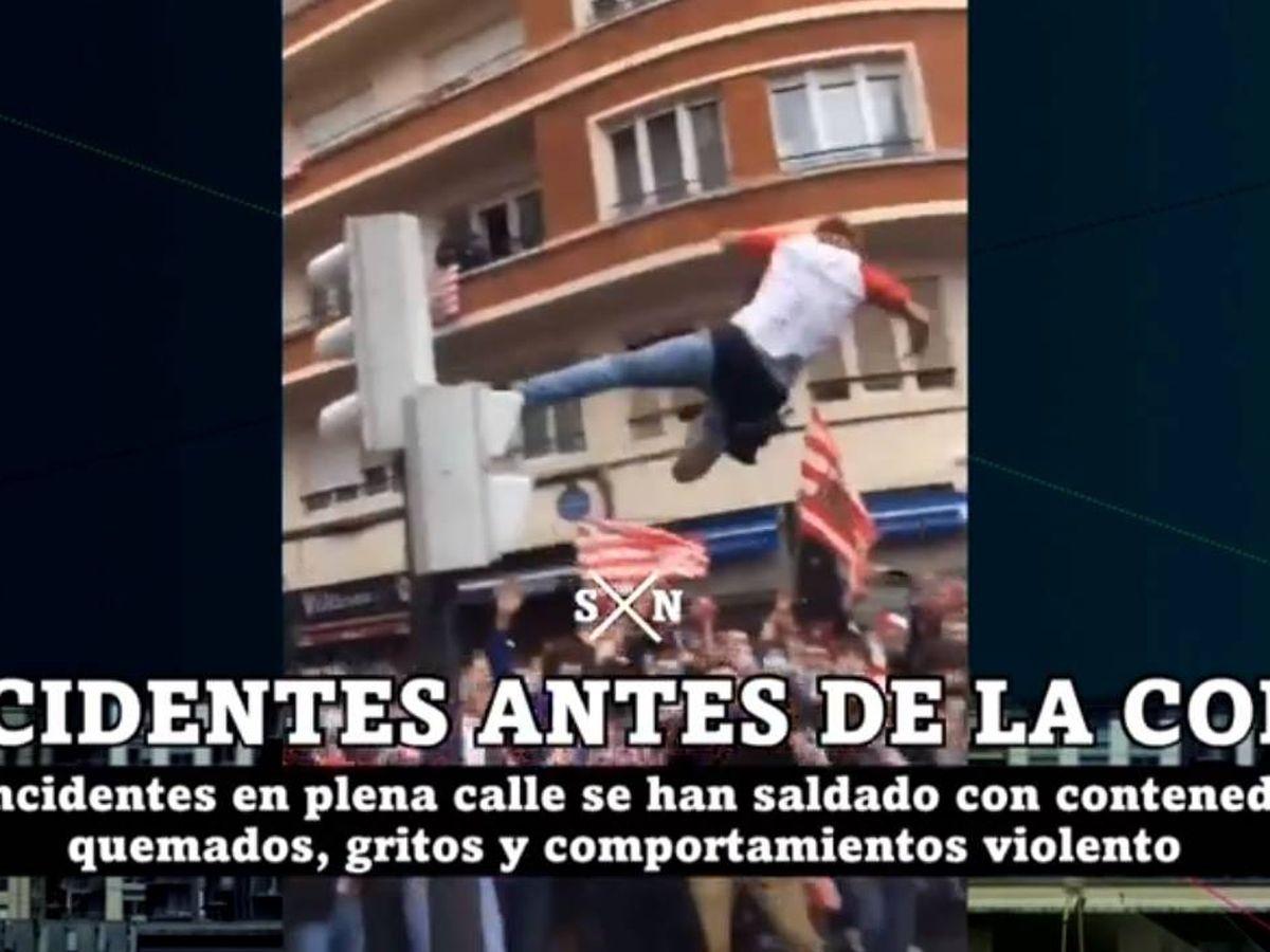 Foto: Imágenes de los incidentes. (La Sexta).