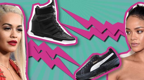 Rihanna versus Rita Ora: la guerra de las zapatillas ha empezado