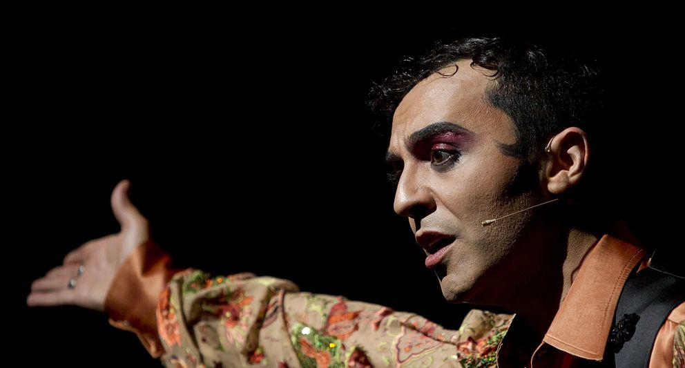 Foto: Ángel Ruiz da vida a Miguel Molina en el Teatro Infanta Isabel de Madrid (Daniel Pérez)