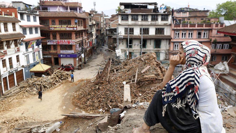 Terremoto en Nepal: primeros segundos de pánico y destrucción