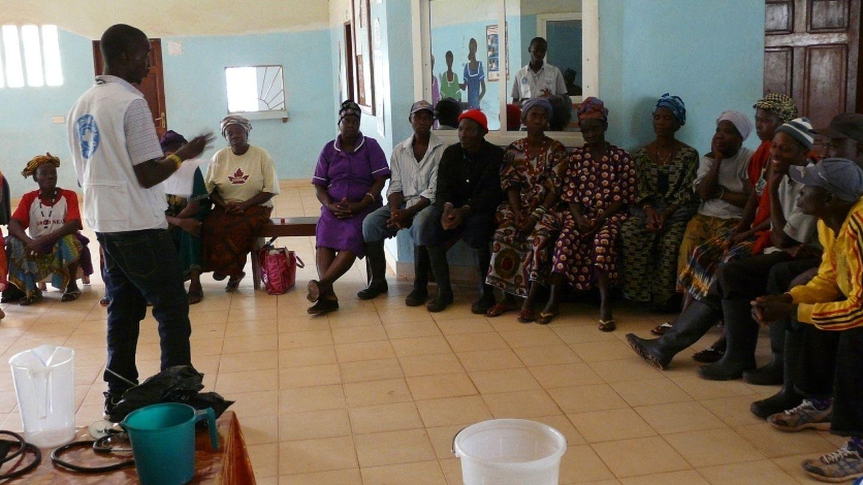 Taller de prevención en Koinadugu, Sierra Leona. (Foto: Médicos del Mundo)