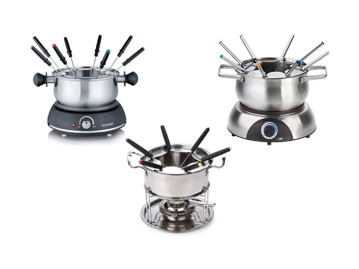 Foto: Las fondues más adecuadas para preparar carnes, quesos y chocolates