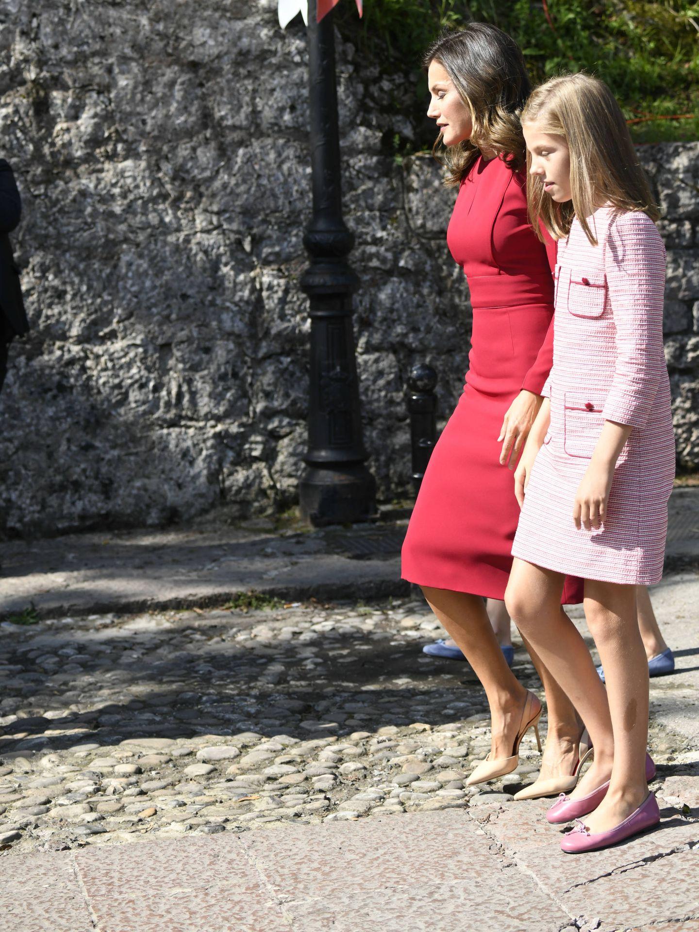 Letizia, con su hija. (Limited Pictures)