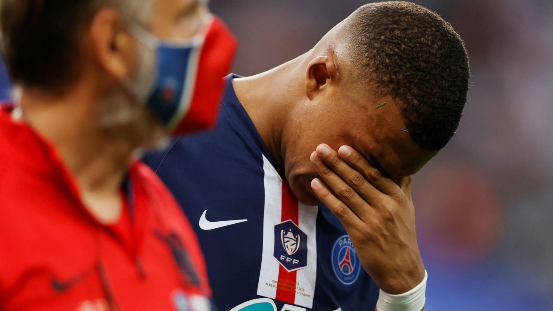 La terrible entrada a Mbappé que pone en serias dudas su presencia en la Champions