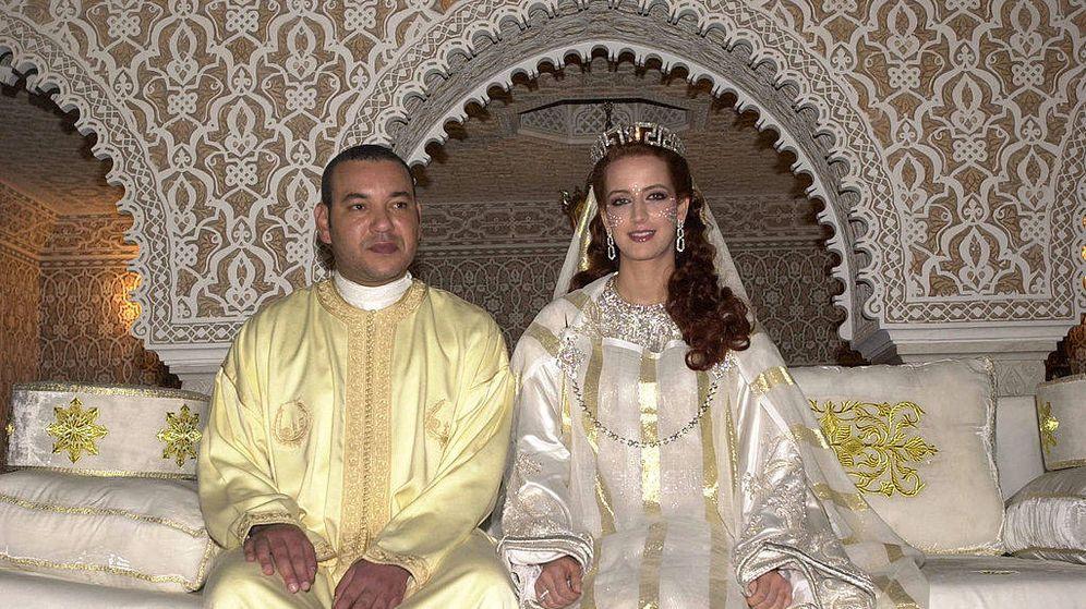 Foto: Mohamed VI y Lalla Salma en una imagen de archivo. (Getty)