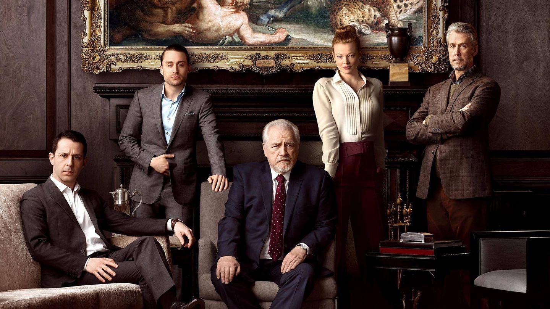 Los miembros de la familia Roy protagonizan 'Succession'. (HBO)