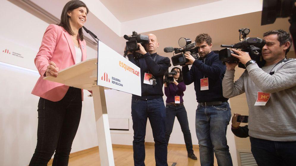Foto: La portavoz de ERC, Marta Vilalta. (EFE)