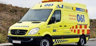 Post de El desmayo de un conductor provoca un accidente en Vigo que deja ocho heridos