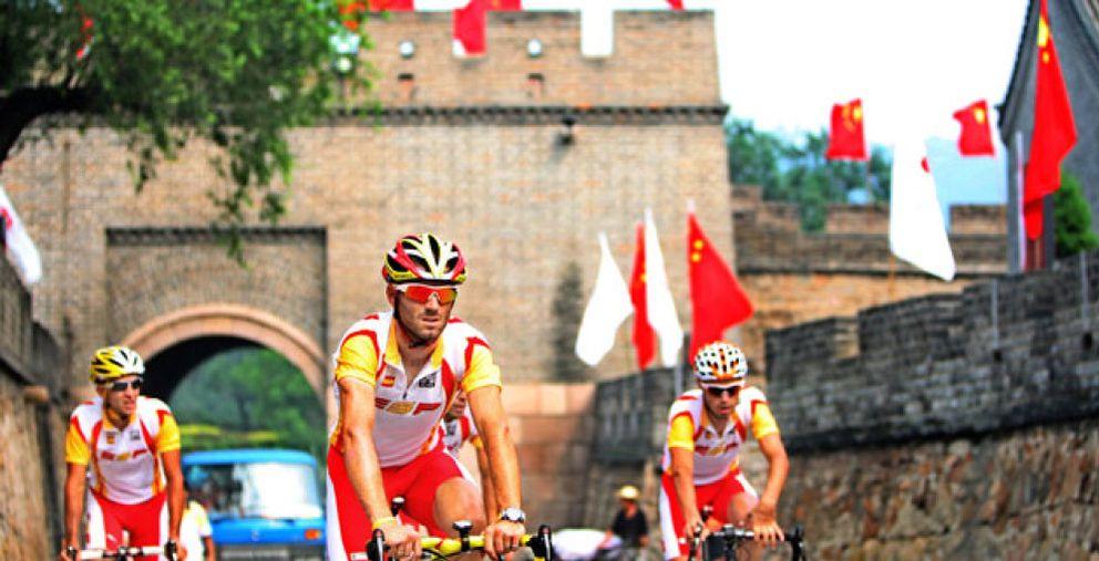 Foto: Los ciclistas españoles vuelven a pasar un control antidopaje