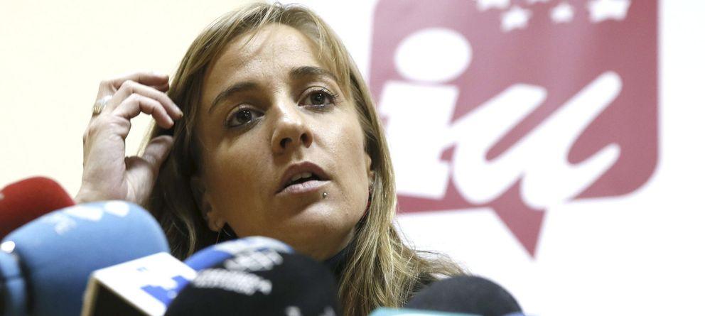 Foto: La diputada autonómica de IU Tania Sánchez (EFE)