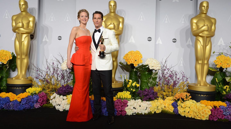 Matthew McConaughey y Jennifer Lawrence