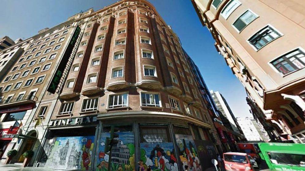 Foto: Edificio donde estaba el Hotel Rex y los históricos Cines Rex