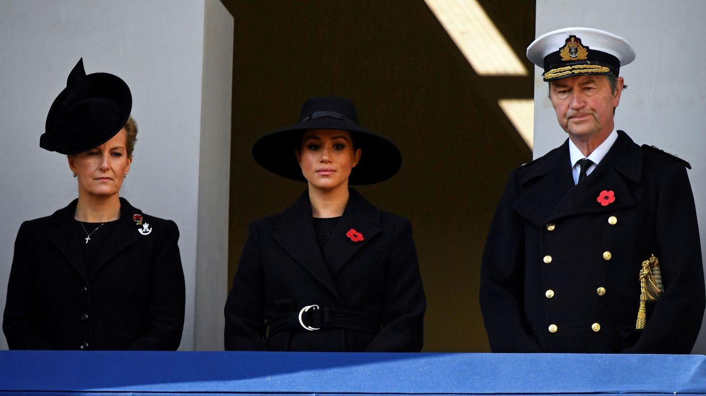 Meghan, Kate y nuevo duelo de estilos: celebritie vs royal en el Día del Recuerdo