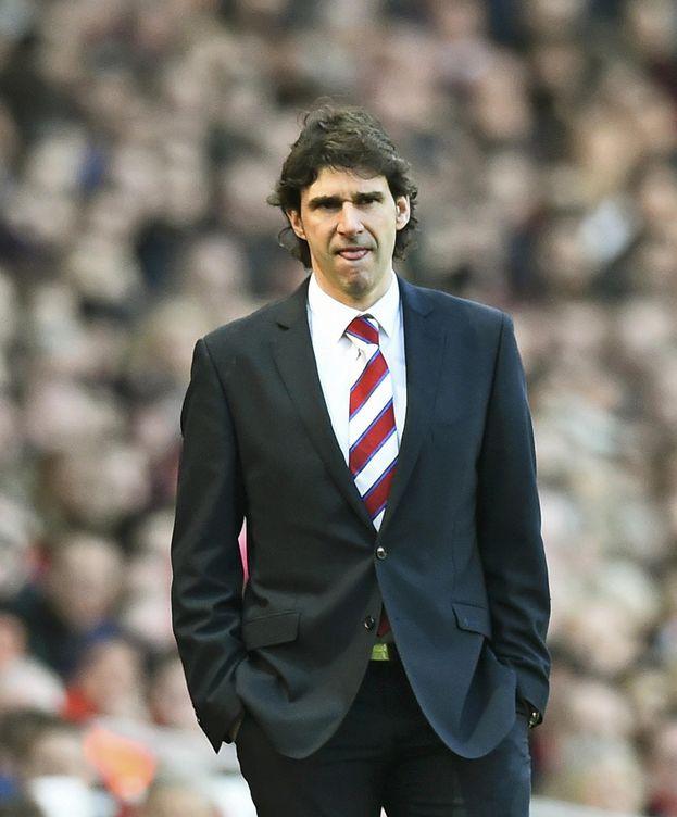 Foto: Karanka observa un partido del Middlesbrough. (Reuters)