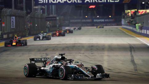 Fórmula 1 en directo: El GP de Singapur con Fernando Alonso 7º y Carlos Sainz 8º