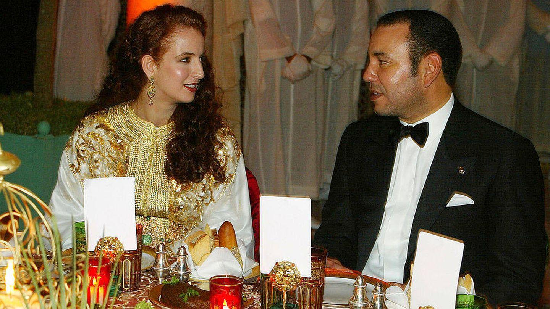Lalla Salma y Mohamed VI en una imagen de archivo. (Getty)