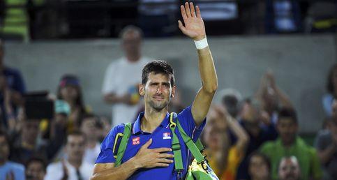 Del Potro da la primera gran sorpresa de los Juegos tras eliminar a Djokovic