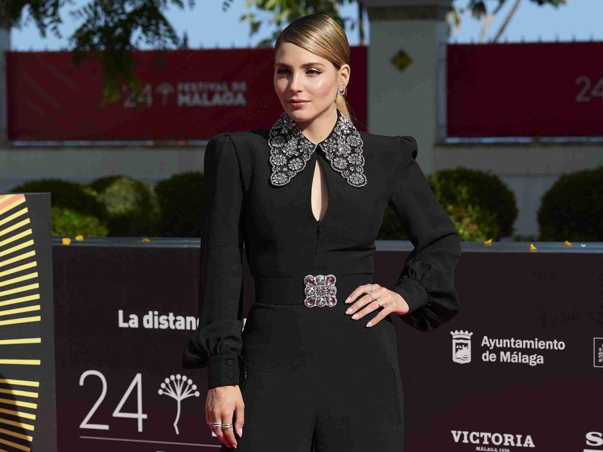 Foto: Andrea Duro, en el Festival de Cine de Málaga. (Getty)