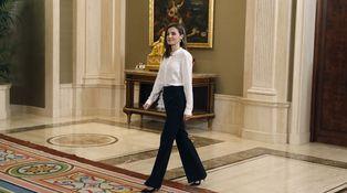 Doña Letizia y el extraño caso de los looks para las audiencias