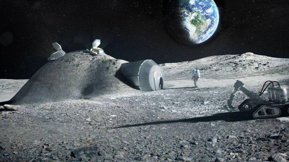 ¿Construir casas en la Luna? La orina humana puede ser el material clave