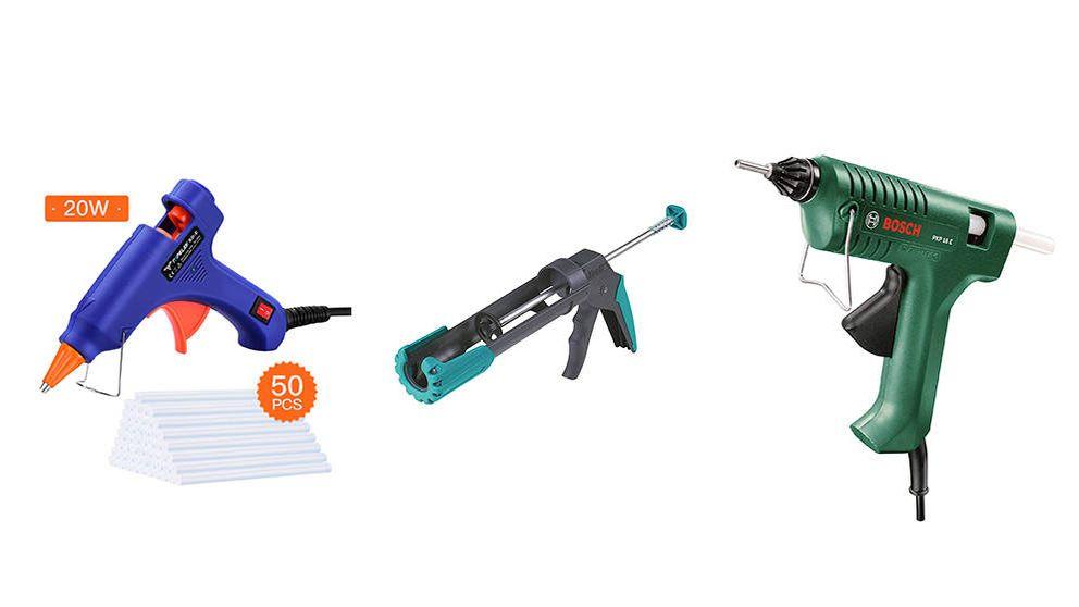 Las mejores pistolas de siliciona que no pueden faltar en tu caja de herramientas