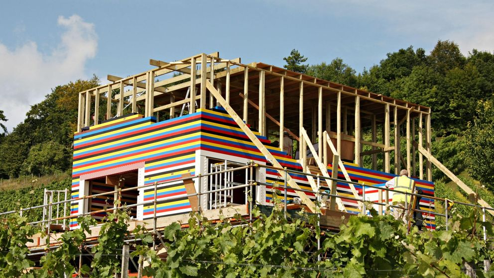 Megaestructuras construidas con materiales inverosímiles