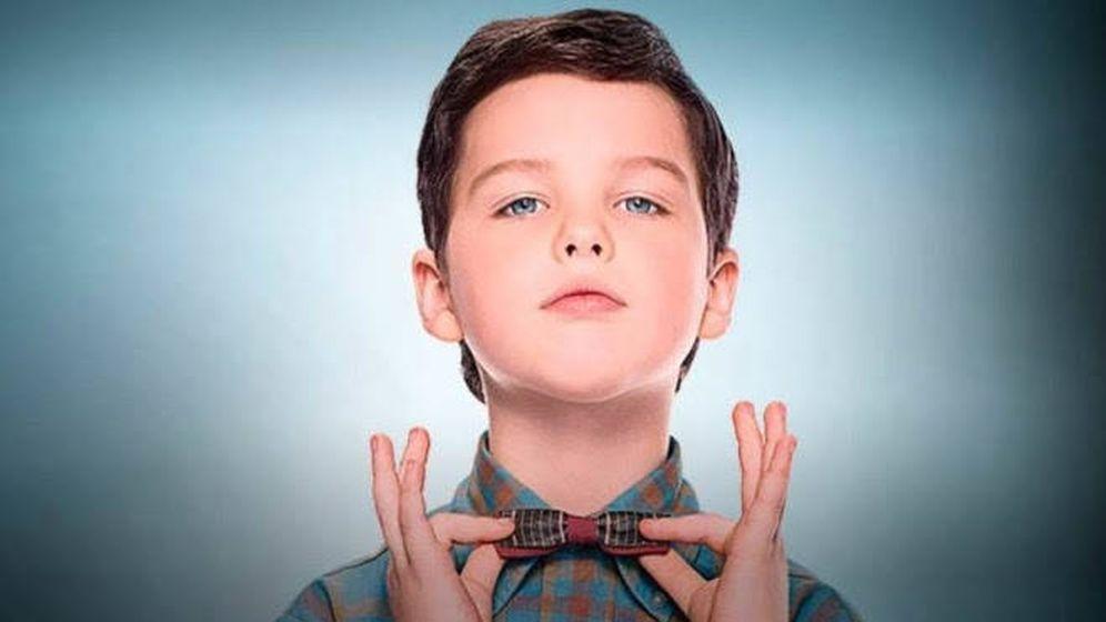 Foto: El actor Iain Armitage dará vida a Sheldon Cooper en 'El joven Sheldon'. (Movistar)