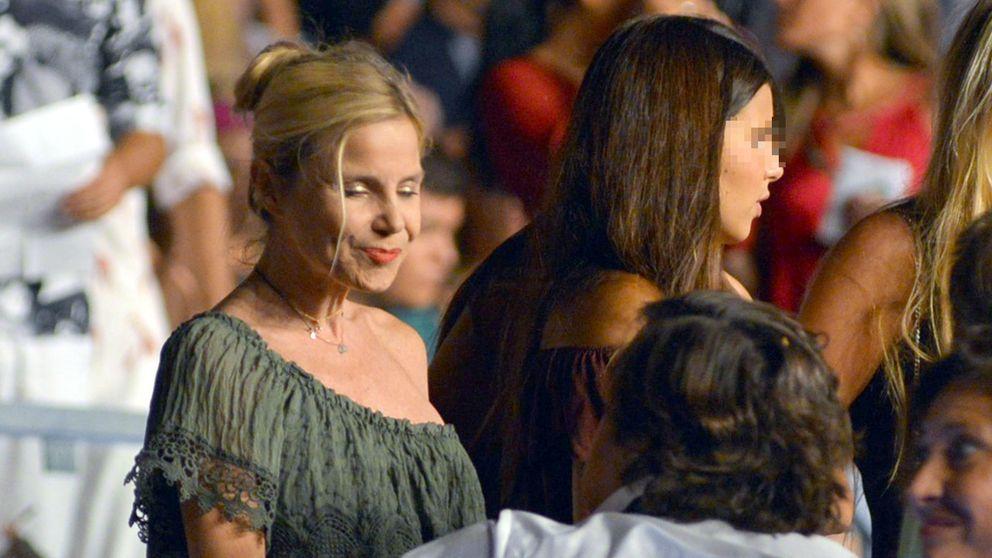 La hija de Fran se desquita del susto de la cogida de su padre con Enrique Iglesias