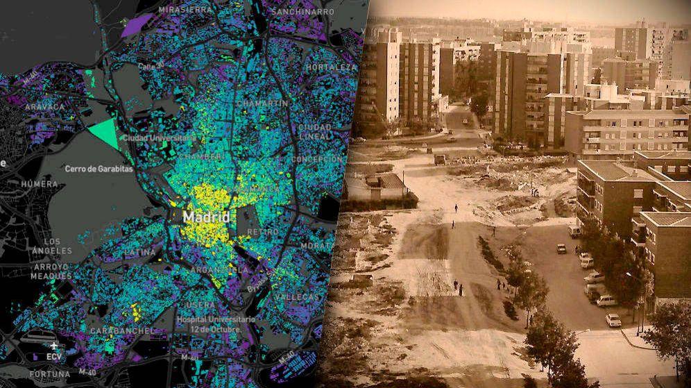 ¿De qué año es tu casa? El mapa que muestra cómo se ha construido España