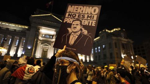 El presidente interino de Perú dimite tras dos muertes en las protestas en su contra