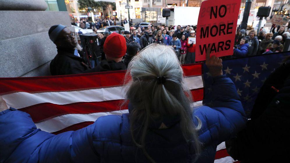 Foto: Manifestación en San Francisco, California, contra la guerra (EFE)