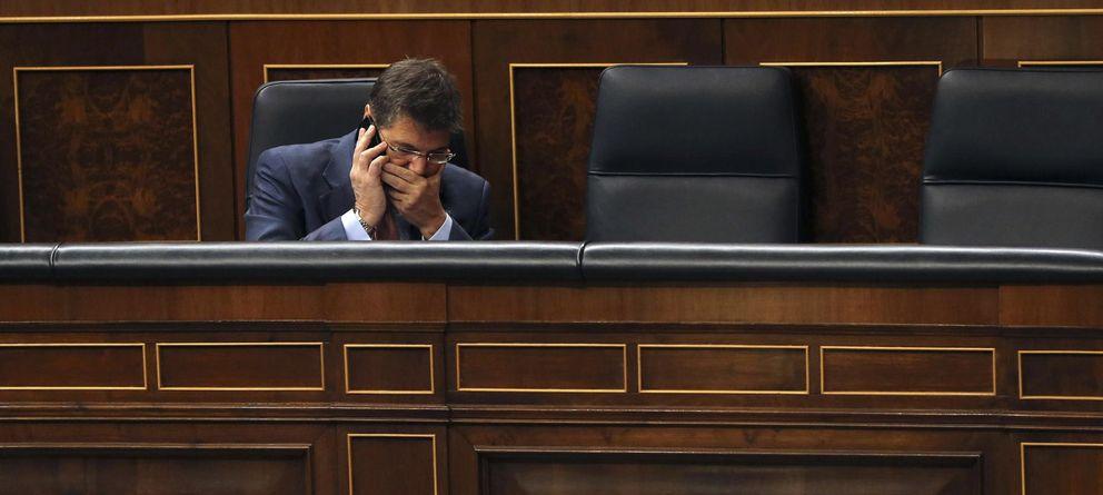 Foto: Rafael Catalá, en el Congreso. (Efe)