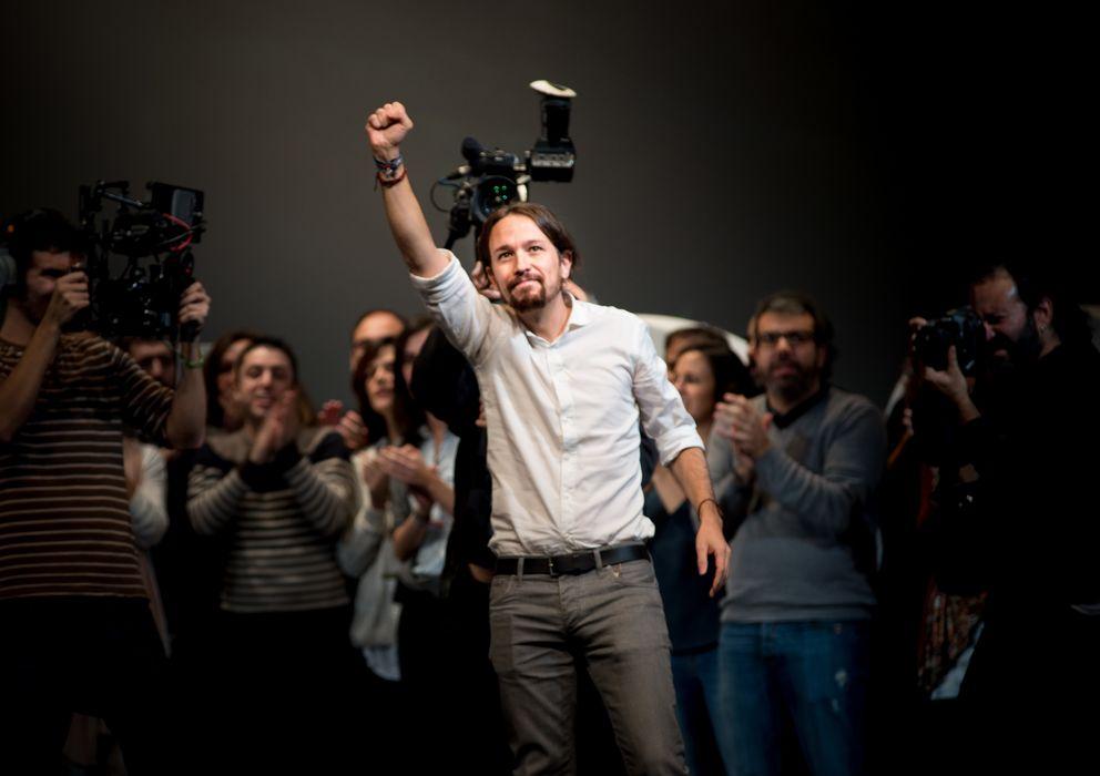 Foto:  El secretario general de Podemos, Pablo Iglesias. (Daniel Muñoz)