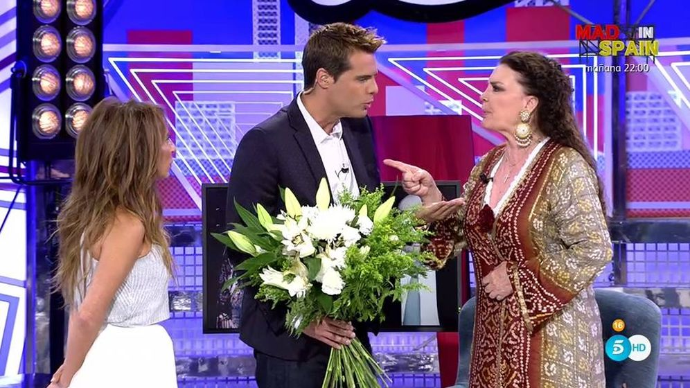Foto: María José Cantudo en 'Sábado Deluxe'.