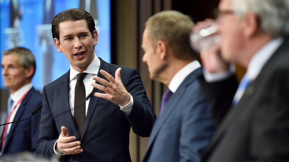 Foto: Unión de líderes de la Unión Europea en Bruselas. (Reuters)