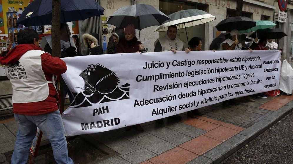Foto: La Plataforma de Afectados de Madrid (Efe).